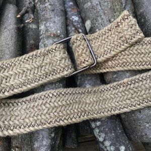 Natural Fiber Belt Large
